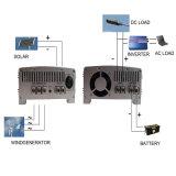 12V 24V LCD Zonnepaneel van de Turbine van de Wind van het Controlemechanisme 1000W van de Last van de Wind van de Vertoning het Zonne Hybride