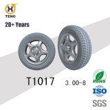 손수레 4.10/3.50-5 편평한 자유로운 타이어를 위한 PU 거품 바퀴