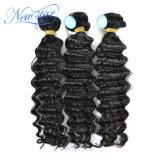 Глубокий бразильский Weave волос связывает волос 100% Remy человеческих волос Non