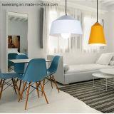 Iluminación casera de interior que cuelga la lámpara pendiente para seis colores