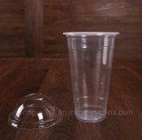 tazza a gettare della frutta 500ml con una tazza di plastica trasparente spessa della bevanda dei pp