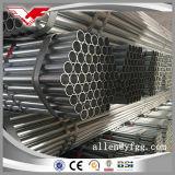 BS1387 fabricante galvanizado del tubo del acero de carbón de la INMERSIÓN caliente ERW en China
