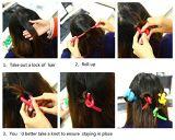 Espuma de pelo ligero y girar el rodillo moldeador de varillas flexibles