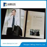 Servizi di stampa e del grippaggio del libro del catalogo