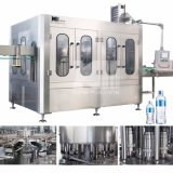 Linha de produção de enchimento da água automática cheia do sabor