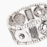 Vintagerhinestone nette Tibet der Form-Frauen Retro silberne Armband-u. Bangel Dame-Schmucksache-Zubehör