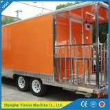 Générateur disponible Outdoor Mobile Food Cart Trailer Booth
