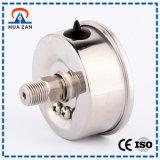 Tester d'acciaio di pressione di olio di caso di scopo del manometro dell'olio