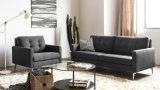 Sofá moderno da tela de Seater da mobília três do hotel da sala de visitas (HC044)