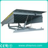 Fixador hidráulico de carga e descarga do nivelador de doca