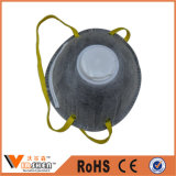 L'anti mascherina di polvere attivata nero a gettare del filtrante del carbonio della polvere