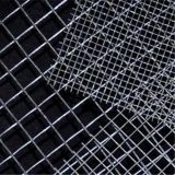 電流を通された金網の正方形の金網か溶接された金網