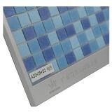 Mezcla azul de mosaico para el azulejo de la piscina