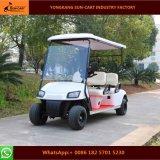 4人の乗客の良質の電気ゴルフカート