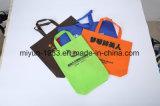 2017 Nouveau matériel portant un sac à provisions portable non tissé