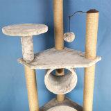 Башня мебели вала кота, вал Scratcher кота деятельности при Climbling