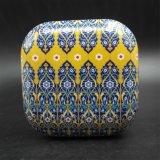 Cuadros cuadrados de pintura retro caja de hojalata (s001-v14)