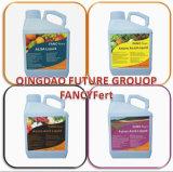 Fertilizante orgânico do extrato Foliar líquido da alga