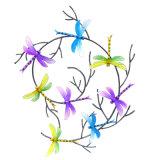 벽을%s 다채로운 춤 나비 정원 금속 훈장