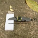 Portátil Multitool exterior Llavero Cuchillo plegable de EDC Cuchillo de supervivencia de ultraligeros