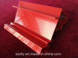 Profil en aluminium personnalisé d'extrusion enduit par poudre superbe