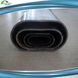 Tubo d'acciaio ellittico piano casuale del tubo di lunghezza Q235