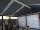 Haus auf dem Dach Gläser Fenstervorhänge Sonnenschutz-Rollladen für Heim