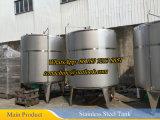 Roestvrij staal die Vat (roestvrije het mengen zich tank) mengen