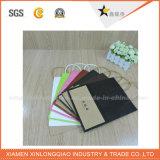 Голубые мешки подарка бумаги высокого качества оптовой продажи цвета