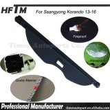 Ssangyong Korando 13-16のための荷物のKorandoの貨物盾