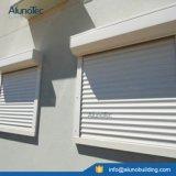 Алюминиевый восходящий поток теплого воздуха профиля предотвращает окно штарки завальцовки