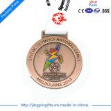 Medalla de encargo de la concesión de la alta calidad del OEM de 2017 fuentes para los ganadores del deporte