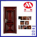 Diseño caliente vender mejor seguridad de acero de alta calidad de la puerta de entrada de hierro