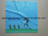 Прокатанная ткань полотенца Microfiber и чистки стекел Microfiber и печать передачи тепла