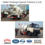 camion di consegna di trasporto della betoniera dell'euro 3 di 2-6cbm Dongfeng