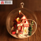 2017 Handmade 대중적인 나무로 되는 장난감 DIY 인형 집