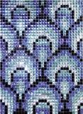 ガラスモザイクミラーのダイヤモンドのモザイク模様(HD039)