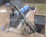 Essiccatore rotativo del piccolo carbone. Essiccatore della sabbia del silicone