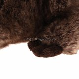 Emulational Peluche farcie Soft Beaver Animal Toys