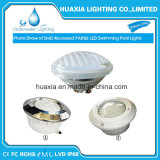 luz subacuática ligera al aire libre de la piscina de la bombilla de 18W 24W 35W LED