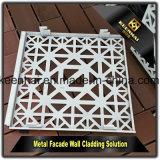 La façade extérieure de revêtement de mur de la Chine lambrisse le panneau composé en aluminium