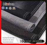 Черный Пике внутри вязания джинсовой 260 GSM для футболка