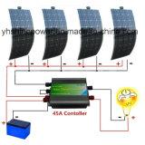 Alimentação de Energia Solar Semi-Flexible para desligar o sistema solar de Grade