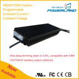 programa piloto actual 500W~720W/constante constante programable al aire libre del voltaje LED