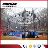 Ereignis-Beleuchtung-Zapfen DJ-Aluminiumstadiums-Rahmen-Gefäß-Zelle-Binder