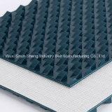 La Chine fournisseur Pattern de dent de scie PVC antidérapante Prix de la courroie du convoyeur
