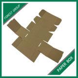 Rectángulo de empaquetado de papel rosado plegable al por mayor de encargo (BOSQUE PILA DE DISCOS 021)