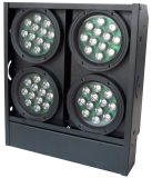 16 * 15W RGBWA 5en1 LED tricolor 4 Light Blinder