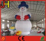 Bonhomme de neige de sourire et de danse gonflable de Noël