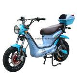 디스크 브레이크와 페달을%s 가진 숙녀를 위한 발동기 달린 자전거 전기 자전거 또는 전기 스쿠터 자전거